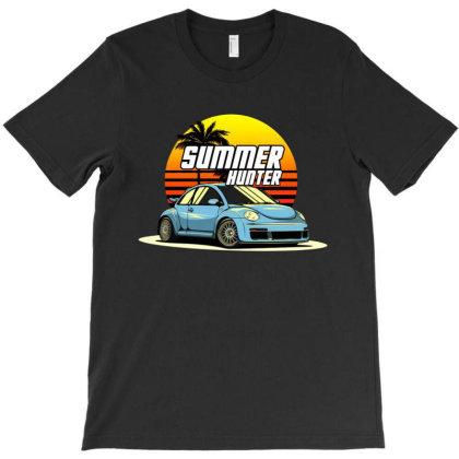 Beetle Summer Hunter T-shirt Designed By Jacqueline Tees