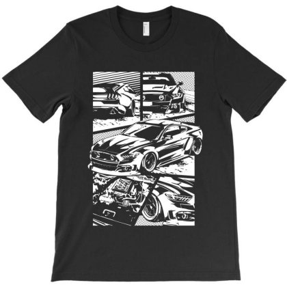 Bw Mustang S550 T-shirt Designed By Jacqueline Tees