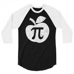apple pie pi day 3/4 Sleeve Shirt | Artistshot