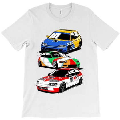 Eg6 Legend Car T-shirt Designed By Jacqueline Tees