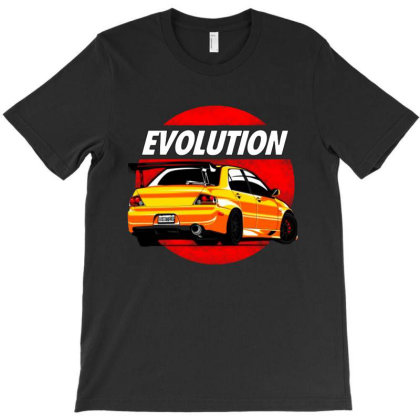 Evolution Sport Car T-shirt Designed By Jacqueline Tees