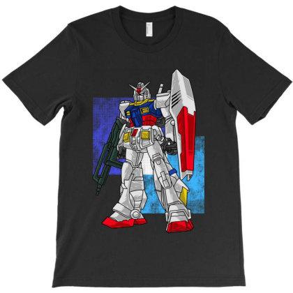 Robo Gundam Hero T-shirt Designed By Jacqueline Tees
