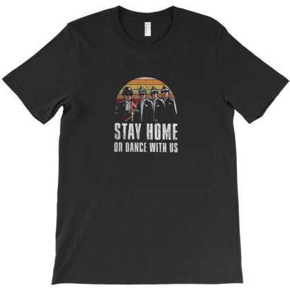 Stay At Home T-shirt Designed By Disgus_thing