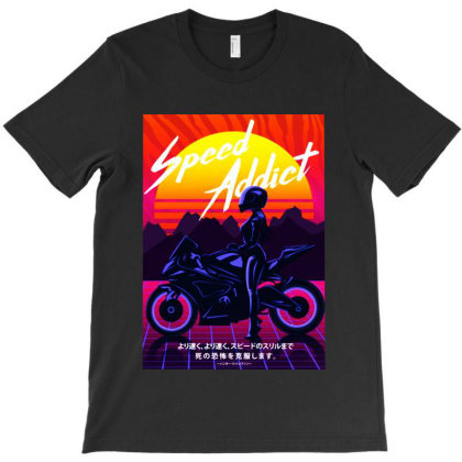 Speed Addict T-shirt Designed By Jacqueline Tees