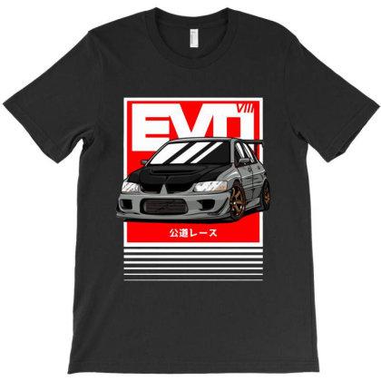 Sport Car Evo Viii T-shirt Designed By Jacqueline Tees