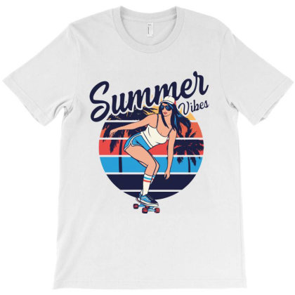 Summer Vibes T-shirt Designed By Jacqueline Tees