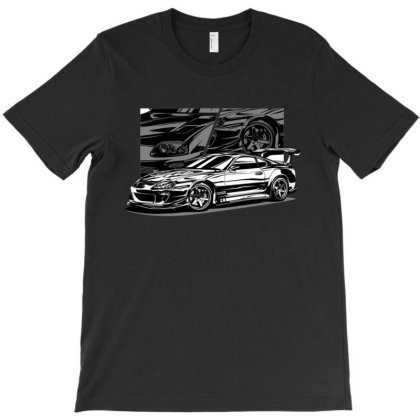 Supra Mk4 Black And White T-shirt Designed By Jacqueline Tees