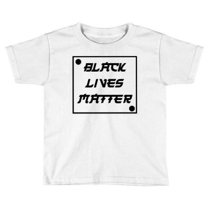 Black Lives Matter Toddler T-shirt Designed By Bram