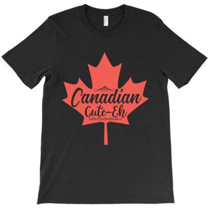 Canadian Cute Eh T-shirt Designed By Zita Art