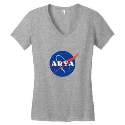 Space Needle Women's V-neck T-shirt Designed By Cuser4002