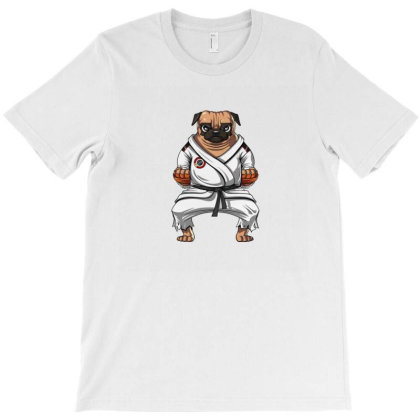 Kungfu Pug T-shirt Designed By Disgus_thing