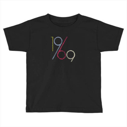 1969 Toddler T-shirt Designed By Disgus_thing