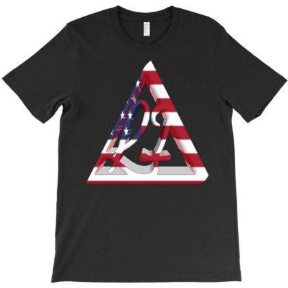 Lecia Usa T-shirt Designed By Dav