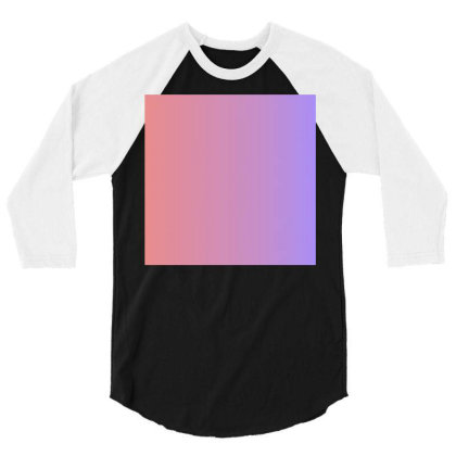 Pink And Purple Colour Combination Art 3/4 Sleeve Shirt Designed By American Choice