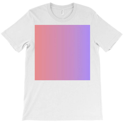 Pink And Purple Colour Combination Art T-shirt Designed By American Choice
