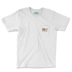 Peace Love Sloths Pocket T-shirt Designed By Badaudesign