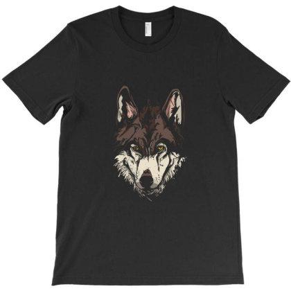 Wolf Head T-shirt Designed By Cuser3978