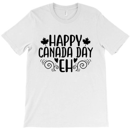 Happy Canada Day Eh T-shirt Designed By Zita Art