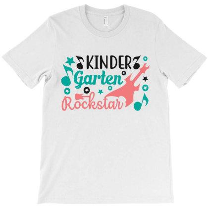Kinder Garten Rockstar T-shirt Designed By Melissa Store