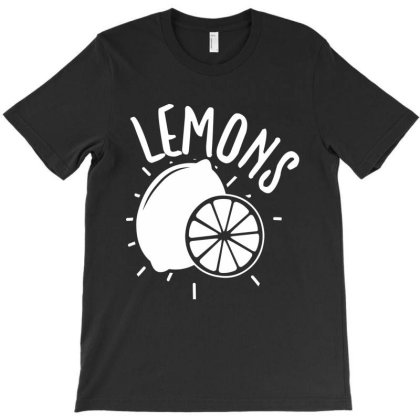 Lemons T-shirt Designed By Zita Art