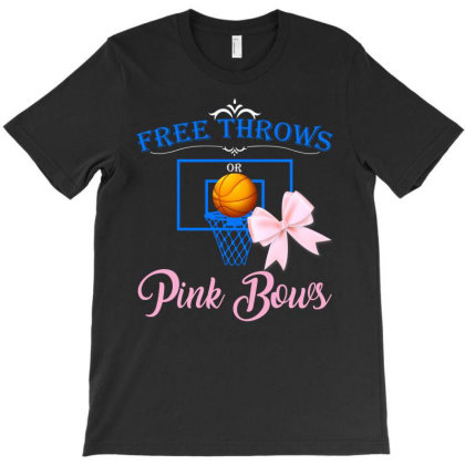 Free Throws Pink Bows T-shirt Designed By Ashlıcar