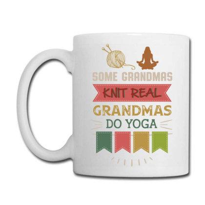 Hobby Yarn Some Grandmas Knit Real Grandmas Do Yoga Coffee Mug Designed By Vip.pro123