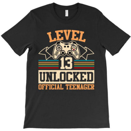 Level 13 Unlocked Official Teenager T-shirt Designed By Ashlıcar