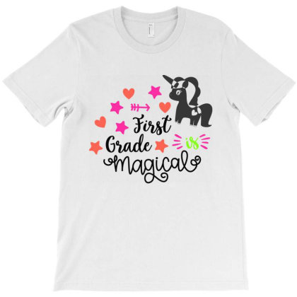 First Grade Is Magical T-shirt Designed By Melissa Store