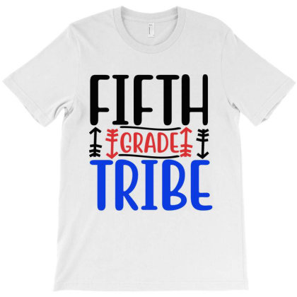 Fifth Grade Tribe T-shirt Designed By Melissa Store