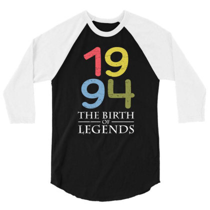 1994 The Birth Of Legends T Shirt 3/4 Sleeve Shirt Designed By Gnuh79