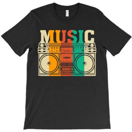 Music Vintage T-shirt Designed By Badaudesign