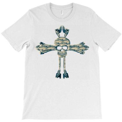 Croix Camo T-shirt Designed By Dav