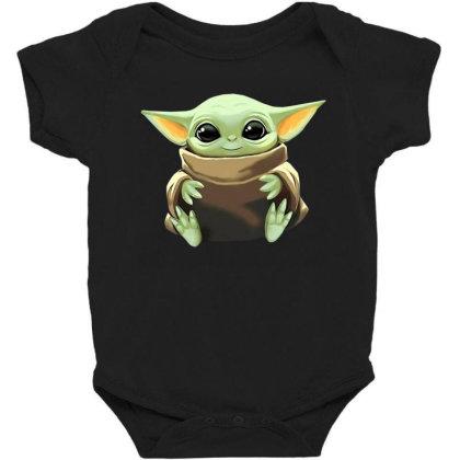 Baby Yoda Baby Bodysuit