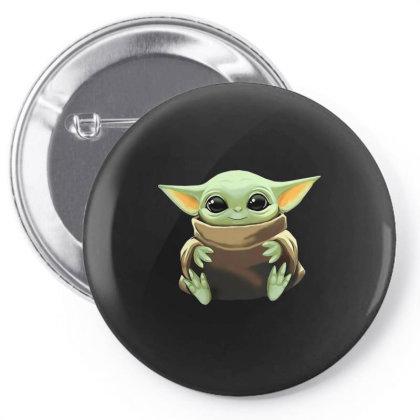 Baby Yoda Pin-back Button Designed By Kakashop