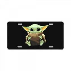 baby yoda License Plate   Artistshot