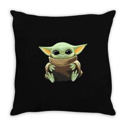 baby yoda Throw Pillow   Artistshot