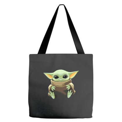 Baby Yoda Tote Bags Designed By Kakashop