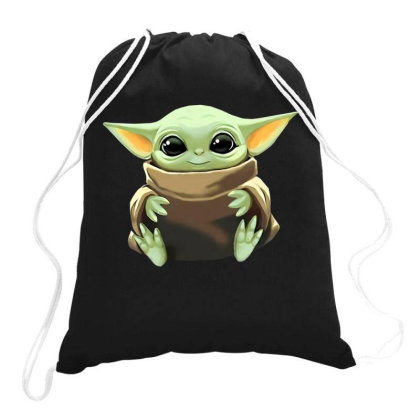 Baby Yoda Drawstring Bags Designed By Kakashop