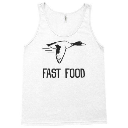 Fast Food Duck Tank Top Designed By Rusmashirt
