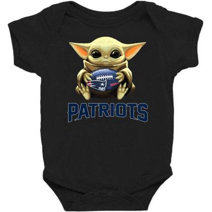 Baby Yoda Patriots Baby Bodysuit
