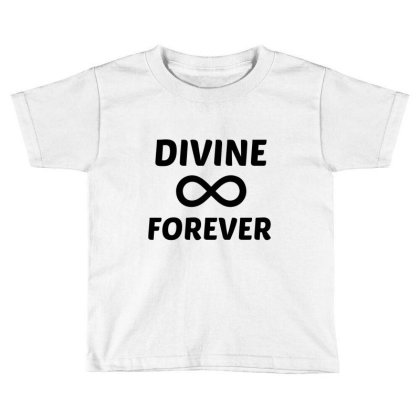 Divine Forever Toddler T-shirt Designed By Perfect Designers