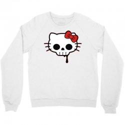 skull kitty Crewneck Sweatshirt | Artistshot