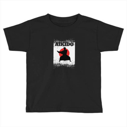 Aikido Toddler T-shirt Designed By Disgus_thing