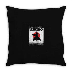 aikido Throw Pillow | Artistshot