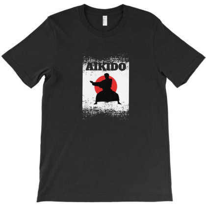 Aikido T-shirt Designed By Disgus_thing