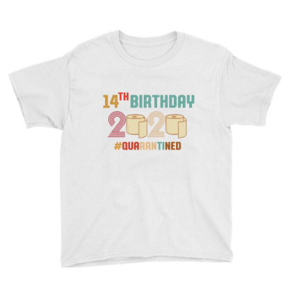 14th Birthday Quarantine Retro Vintage Youth Tee Designed By Vip.pro123