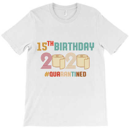 15th Birthday Quarantine Retro Vintage T-shirt Designed By Vip.pro123