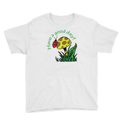 Have A Good Dad Lady Bug Funny Youth Tee Designed By Rusmashirt