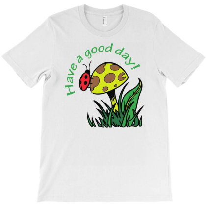 Have A Good Dad Lady Bug Funny T-shirt Designed By Rusmashirt