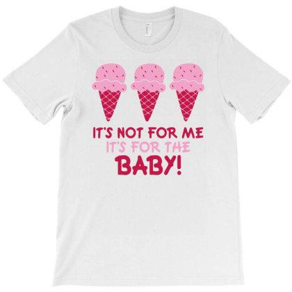 Ice Cream Funny Maternity T-shirt Designed By Rusmashirt